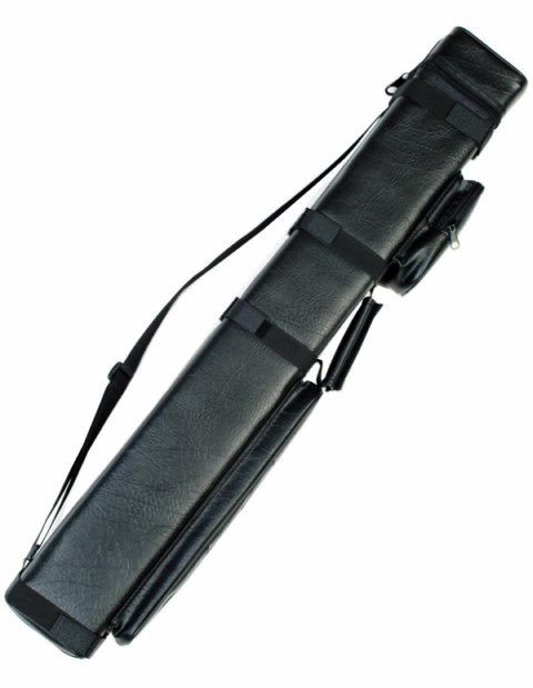 Case of 4 - Black 3X6 Hard Pool Cue Stick Case